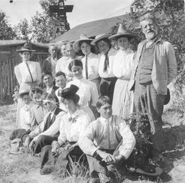 Historic Rourke Ranch family