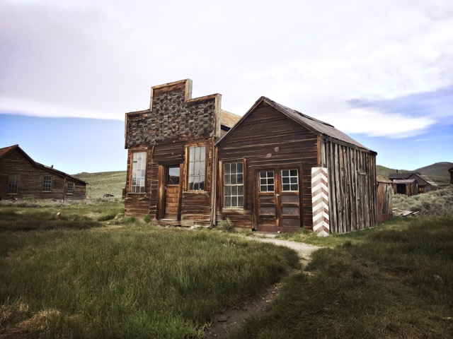 Bodie: D.V. Cain Barn, Fouke House, and Railroad Office