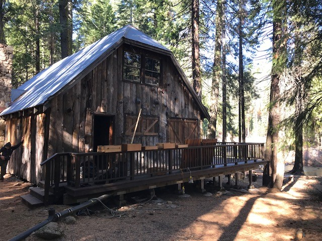Sly Guard Station & Harvey West Cabin, CA 2021