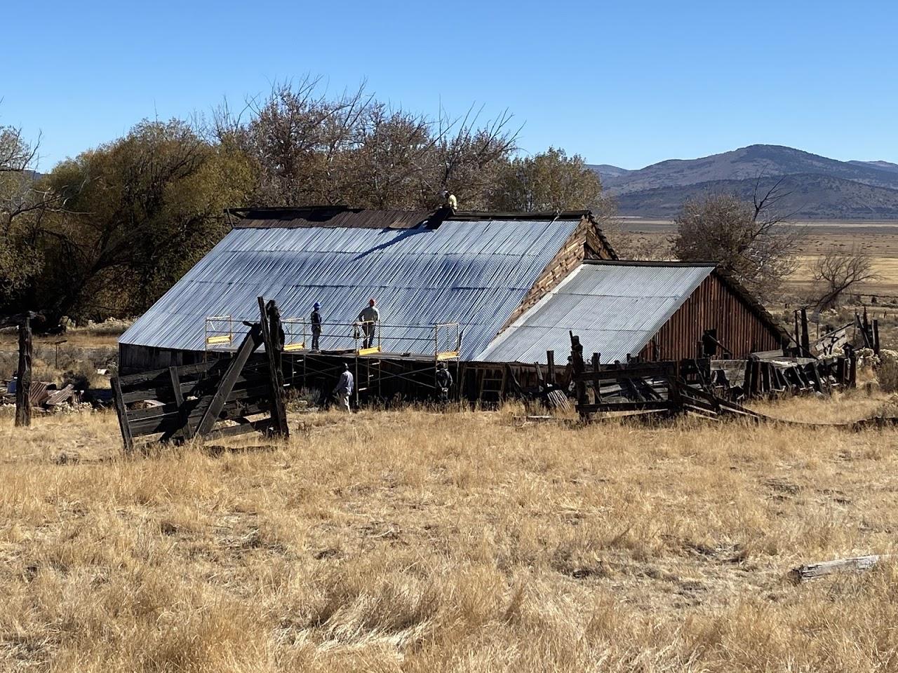 Williams Ranch Barn, CA 2021: Phase II