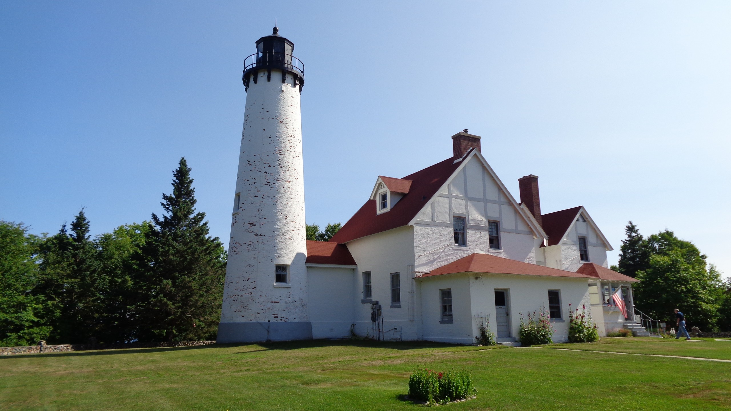 Point Iroquois Lighthouse, MI 2021