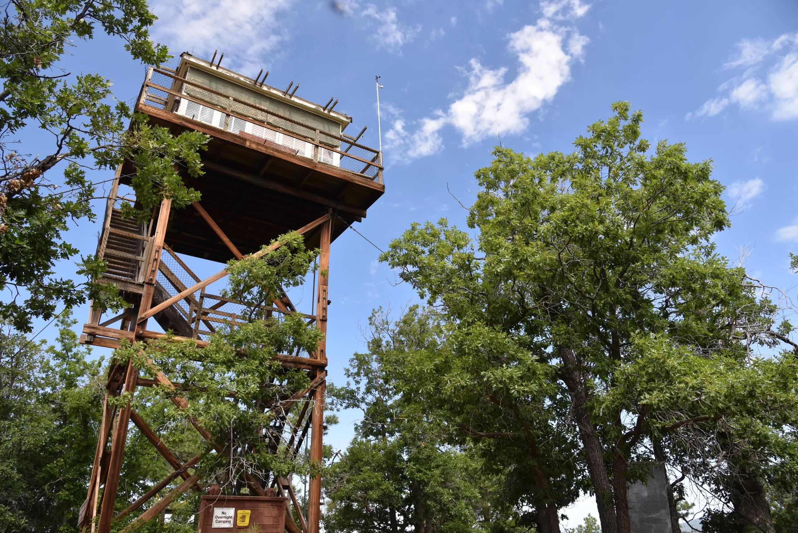 Buck Mountain Fire Lookout Tower, AZ 2021