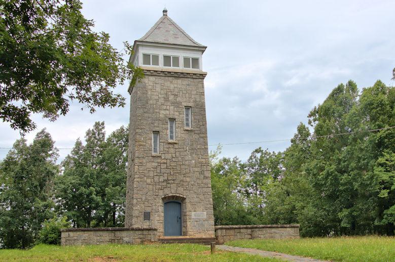 Chenocetah Fire Lookout Tower, GA 2022